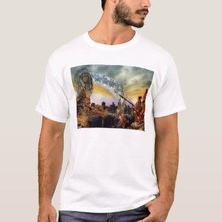 Native American Culture Mens White XL T-Shirt