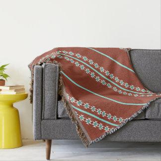 Native American design Throw Blanket