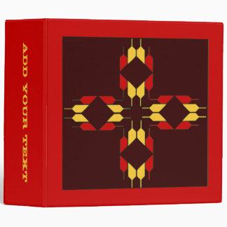 Native American Design Vinyl Binder