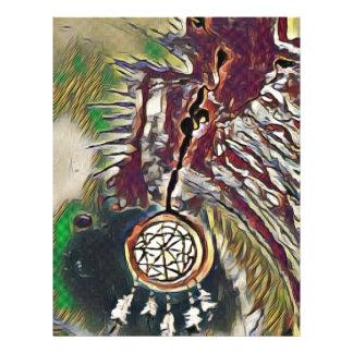 Native American Dreamcatcher Letterhead