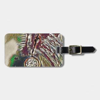 Native American Dreamcatcher Luggage Tag