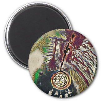 Native American Dreamcatcher Magnet