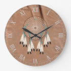 Native American Dreamcatcher Wall Clock