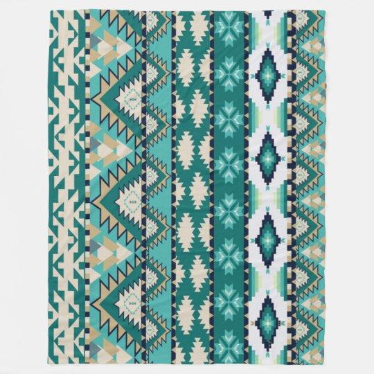 Native American Fleece Blanket