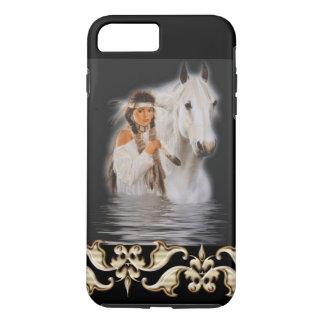 Native American Girl - iPhone 7 Plus Tough iPhone 8 Plus/7 Plus Case