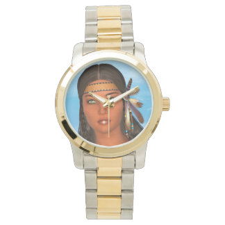 Native American Girl Watch