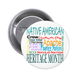 Native American Heritage Month 2 Inch Round Button