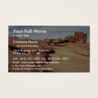 Native American home, Nevada, U.S.A. Business Card