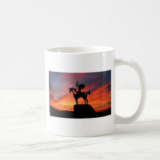Native American Indian and horse Coffee Mug