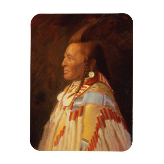 Native American Indian Chief Magnet