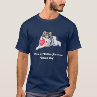 Native American Indian Dog Shirt