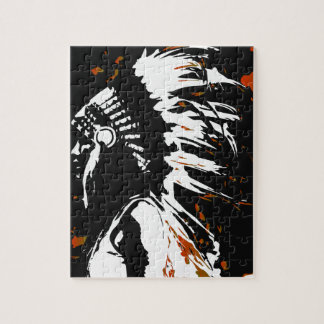 Native American Indian Jigsaw Puzzle