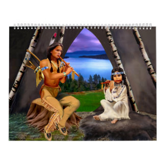 Native American Indian Monthly Calendar