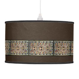 Native American Indian Navajo Hanging Lamp