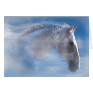 Native American Indian Pony Happy Birthday Card