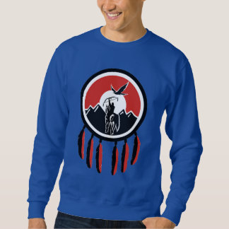 Native American Indian Shield Sweatshirt