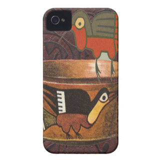 Native American Indian Southwest Bird Pottery Case-Mate iPhone 4 Case