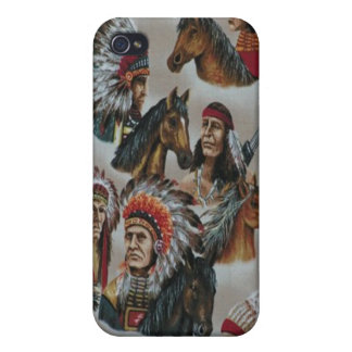 Native American Indians Speck Case iPhone 4 Cover For iPhone 4