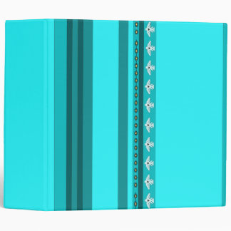 Native American Indians Thunderbird Striped Binder