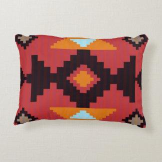 Native American Joy Pattern Decorative Pillow