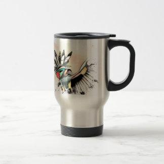Native American Kachina Dancer Travel Mug