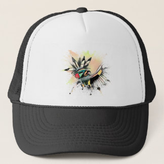Native American Kachina Dancer Trucker Hat