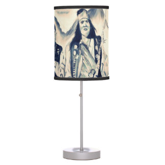 Native American Lamp 1