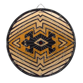 Native American Mimbres Bear Dartboards