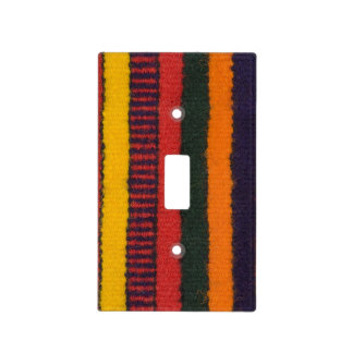 Native American Navajo Indian rainbow color Light Switch Cover