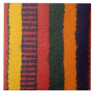 Native American Navajo Indian rainbow color Tile