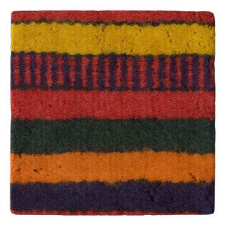 Native American Navajo Indian rainbow color Trivet