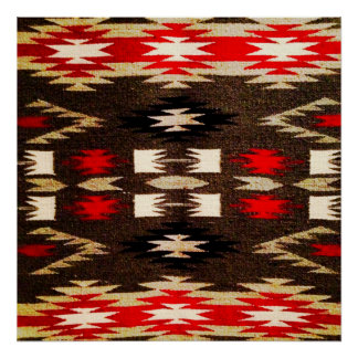 Native American Navajo Tribal Design Print