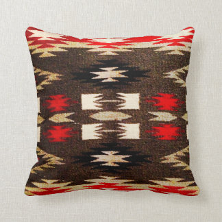 Native American Navajo Tribal Design Print Throw Pillow