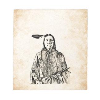 Native American Notepad