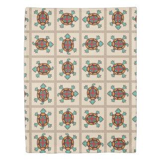 Native american pattern duvet cover