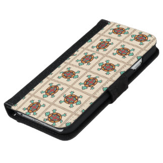 Native american pattern iPhone 6 wallet case