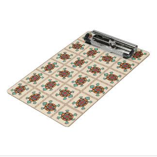 Native american pattern mini clipboard