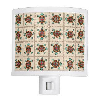 Native american pattern night lights
