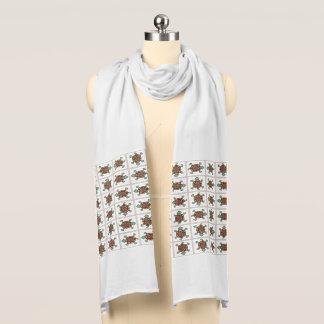Native american pattern scarves