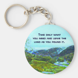 native american philosophy keychain