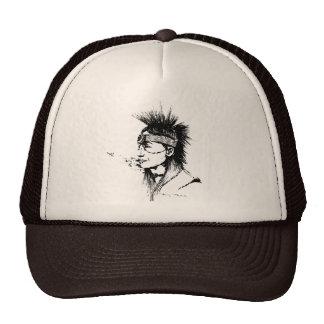 NATIVE AMERICAN POP-ART HAT