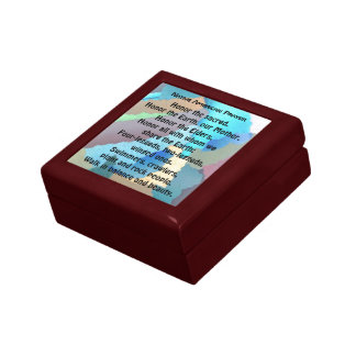 native american prayer gift box