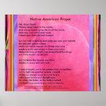 Native American Prayer Posters