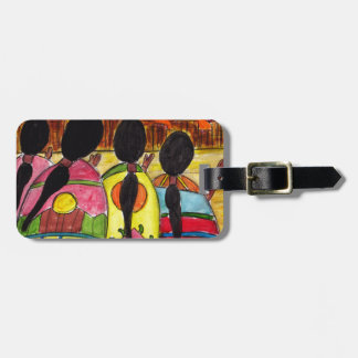 Native American Prayer to Nature Luggage Tag