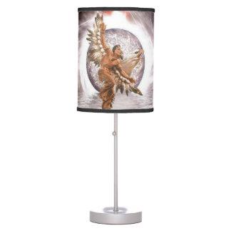 native american print lamp