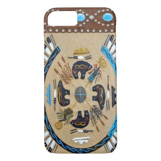"""Native American Sandpainting"" Western iPhone 7 ca Case-Mate iPhone Case"