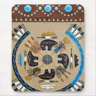 "Native American ""Sandpainting"" Western Mousepad"