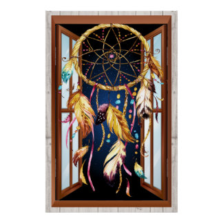 Native American Series Dreamcatcher 3 Poster
