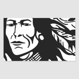 Native American Sticker