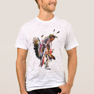 Native American Sundancer - Mens Vintage T-Shirt